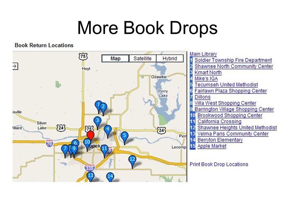More Book Drops