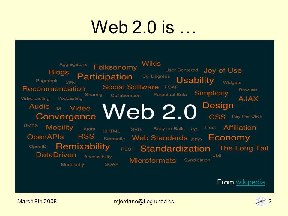 March 8th 2008mjordano@flog.uned.es 33 Graham Stanley http://themetourism.blogspot.com/ http://themetourism.blogspot.com/