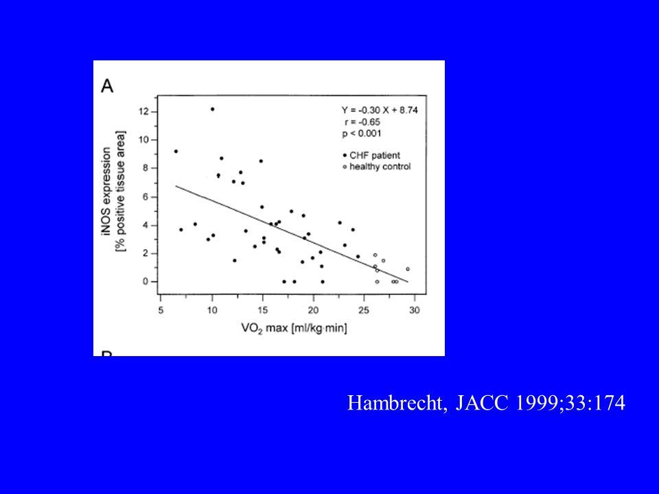 Hambrecht, JACC 1999;33:174