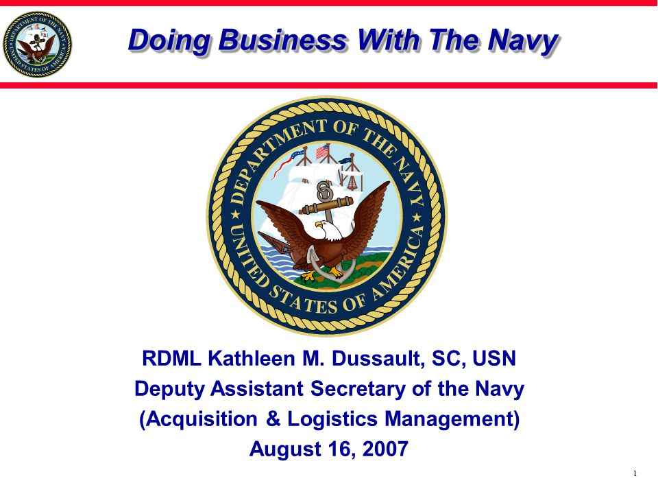 22 Summary Small Business Trends Navy Acquisition Environment How to Market Your Business Points of Contact Agenda