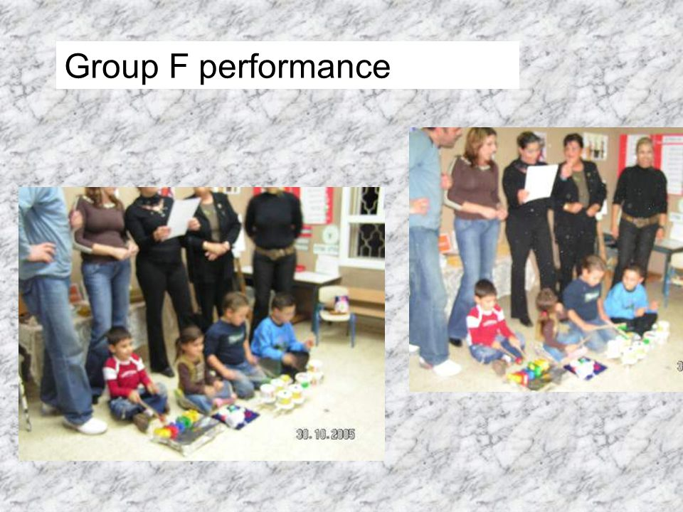 Group F performance