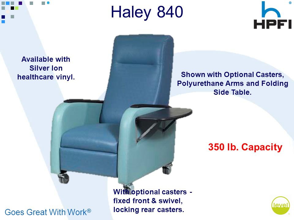 Goes Great With Work ® Haley 840 350 lb.