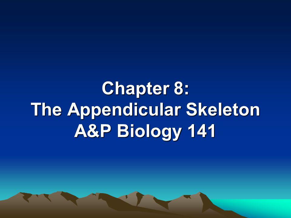 The Appendicular Skeleton Figure 8–1