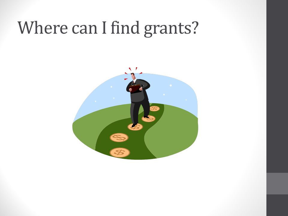 Where can I find grants