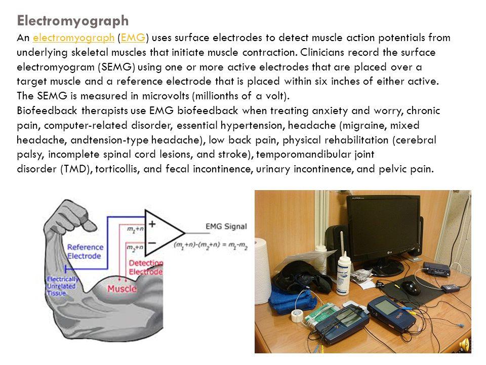 4 kind of common biofeedback modeling