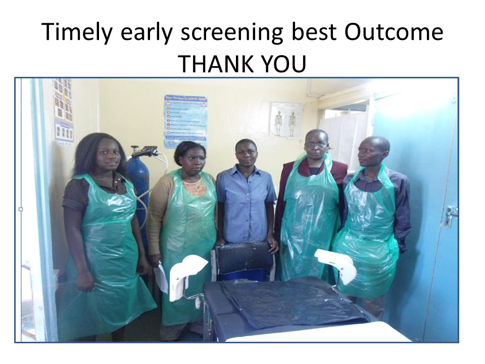 Timely early screening best Outcome THANK YOU