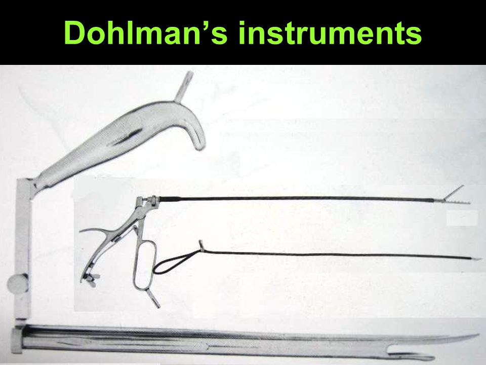 Dohlmans instruments