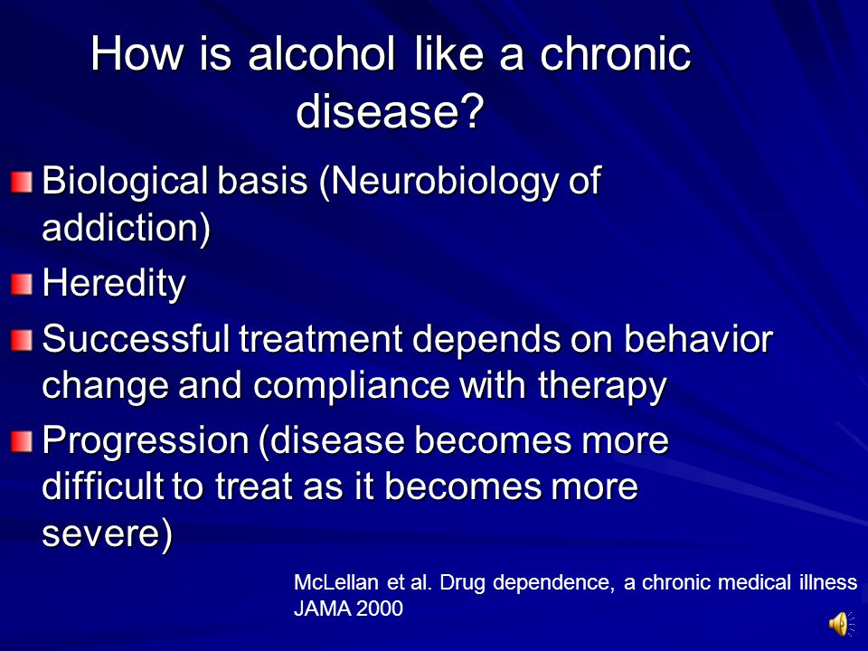 Conclusions There is a growing literature on treatment for alcohol problems Brief Intervention have the strongest evidence base, but as yet, are unproven in the inpatient setting Pharmacotherapy is a promising avenue of treatment