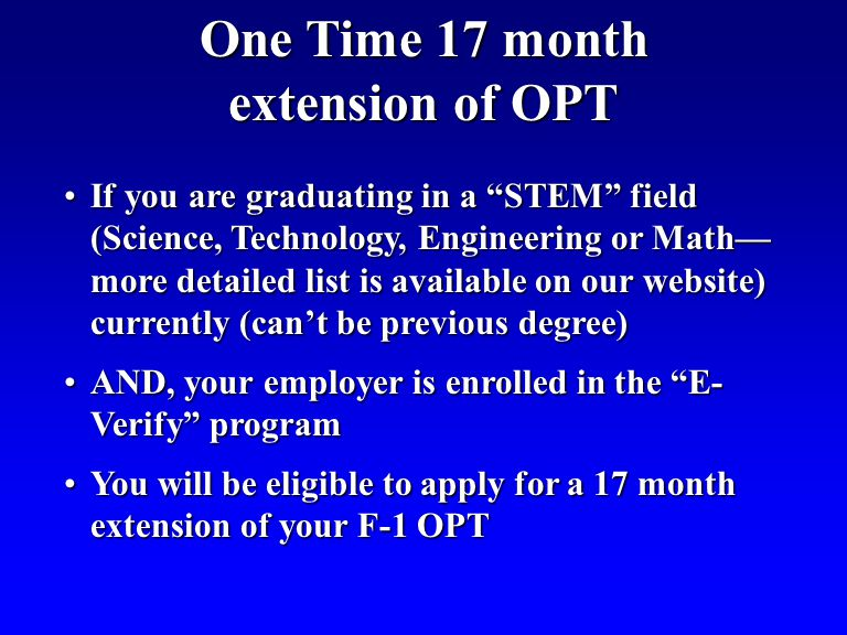 If you are graduating in a STEM field (Science, Technology, Engineering or Math more detailed list is available on our website) currently (cant be pre