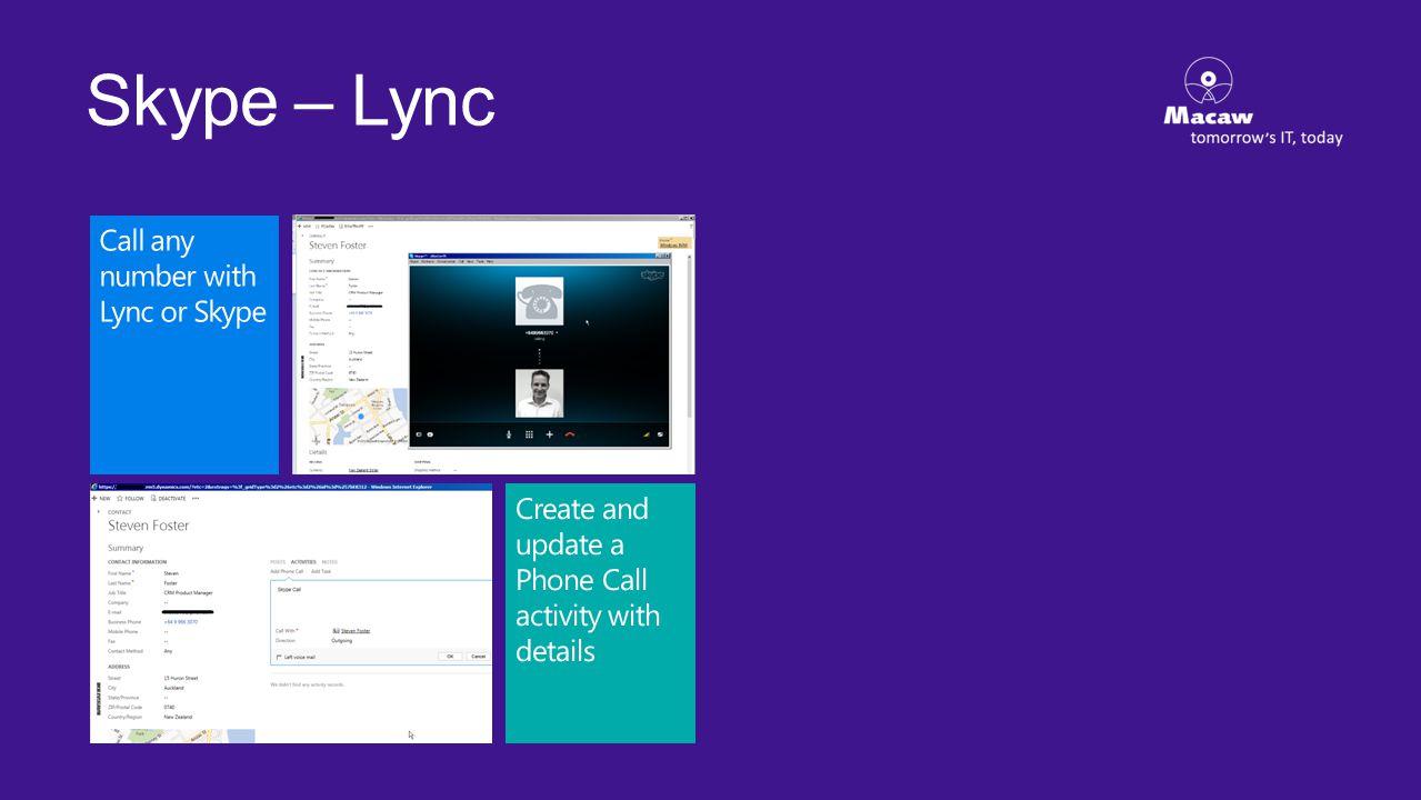 Skype – Lync