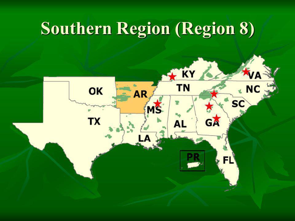 Southern Region (Region 8)