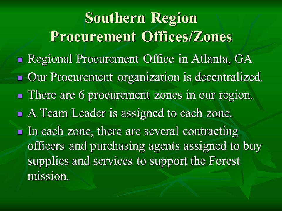 Southern Region Procurement Offices/Zones Regional Procurement Office in Atlanta, GA Regional Procurement Office in Atlanta, GA Our Procurement organi