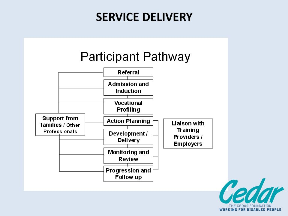 SERVICE DELIVERY