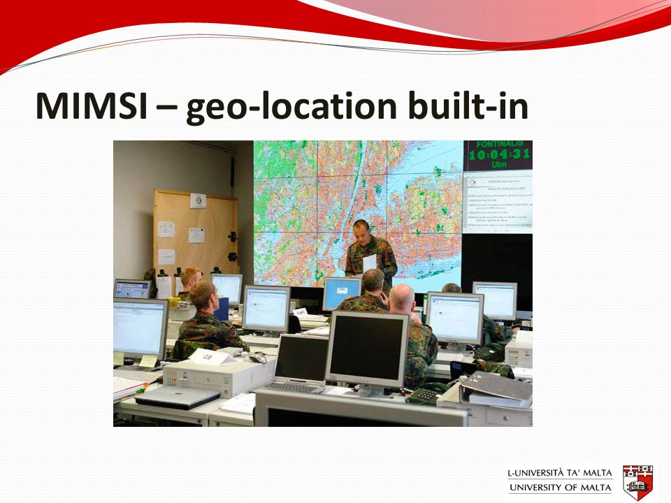 MIMSI – geo-location built-in