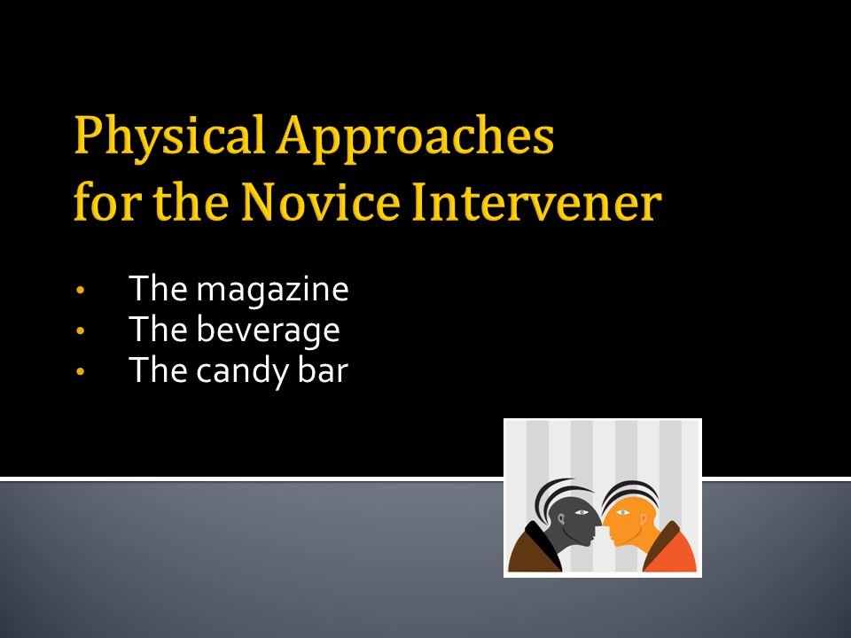 The magazine The beverage The candy bar