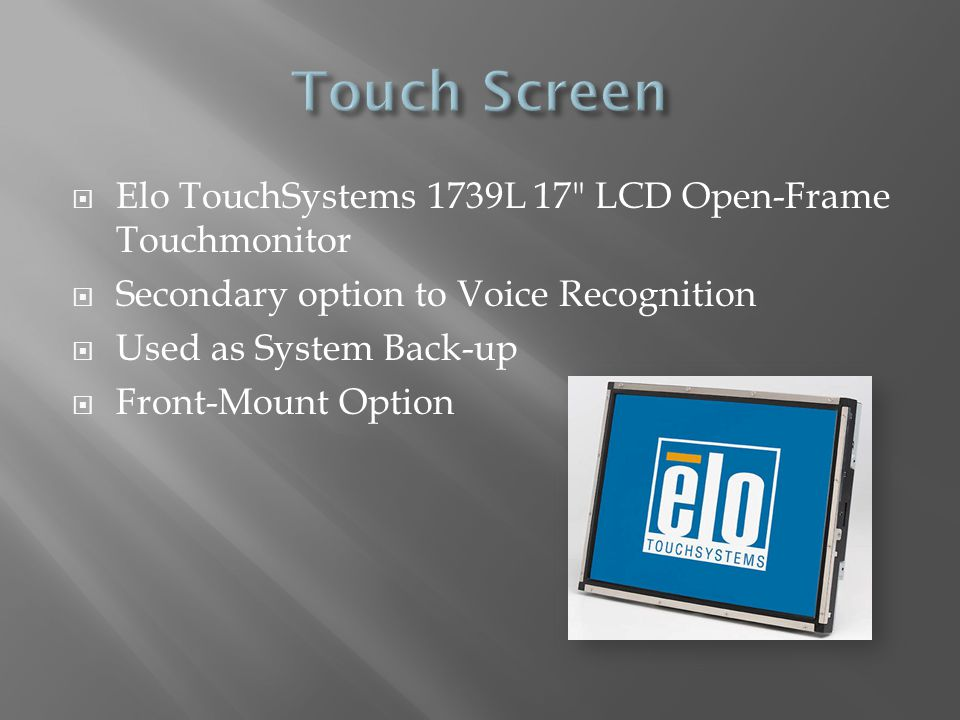 Elo TouchSystems 1739L 17