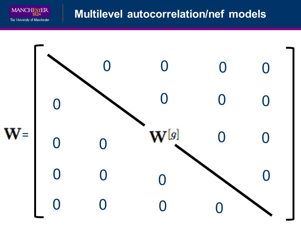 Multilevel autocorrelation/nef models = 0 0 0 0 0 0 0 0 0 0 0 0 0 0 0 0 0 0 0 0