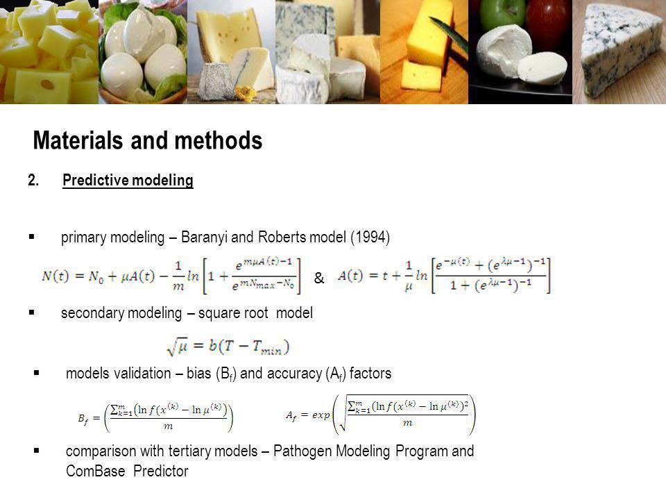 Pathogen Modeling Program & ComBase Predictor www.combase.cc pmp.arserrc.gov