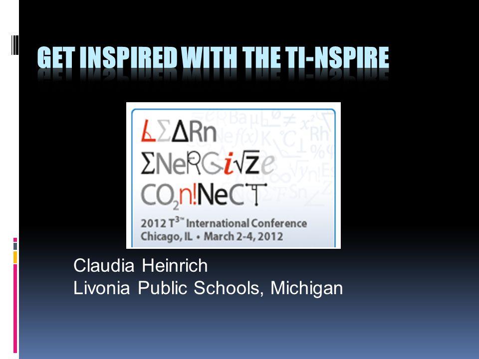 Claudia Heinrich Livonia Public Schools, Michigan