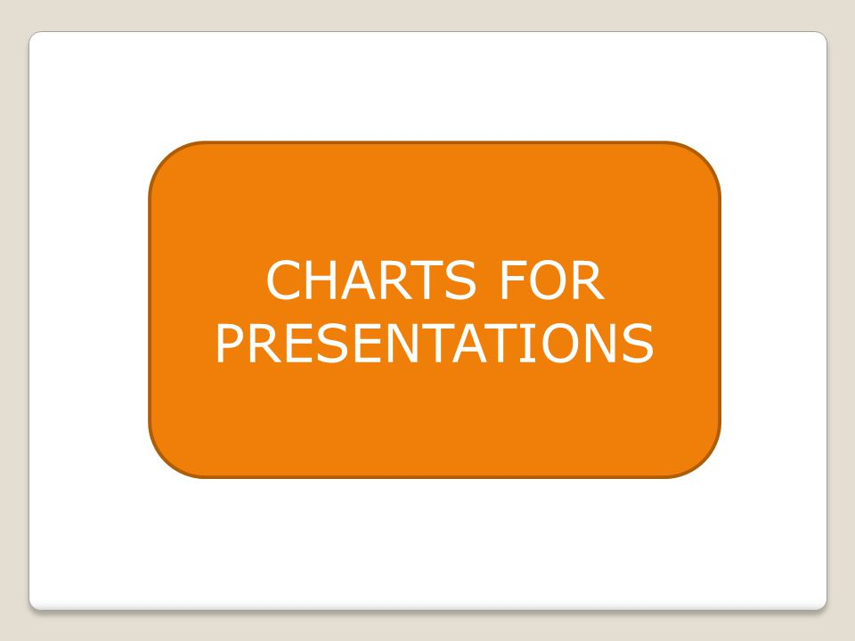 CHARTS FOR PRESENTATIONS