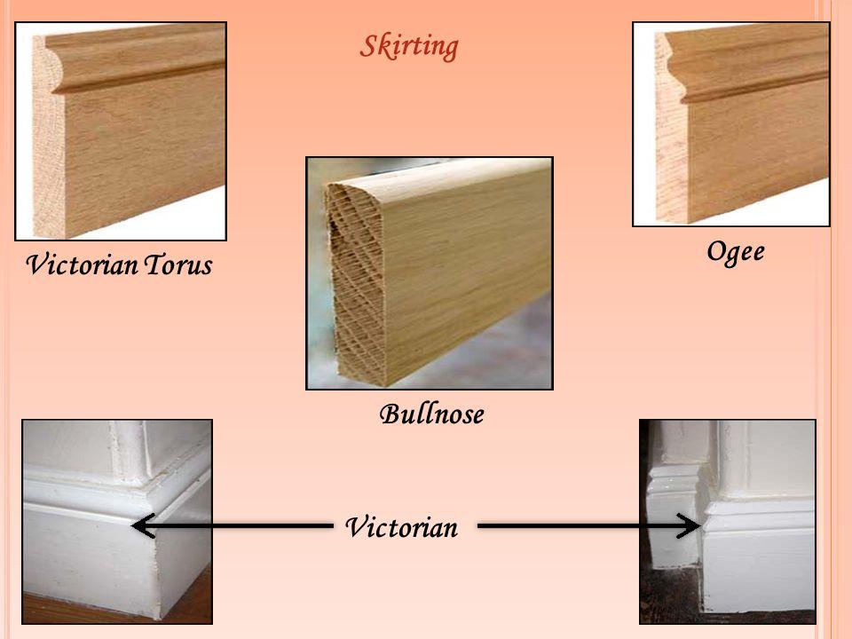 Skirting Victorian Torus Ogee Victorian Bullnose