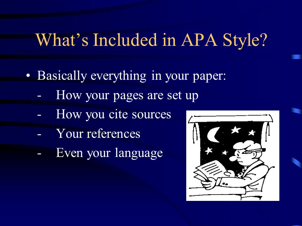 Where can I go to learn APA style.