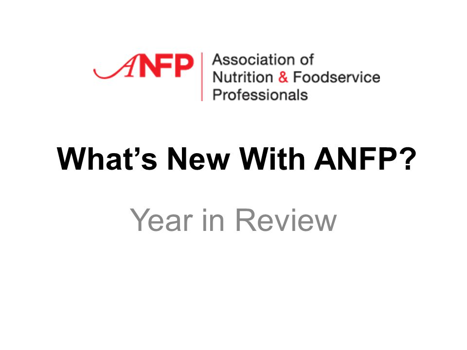 Whats New With ANFP Year in Review