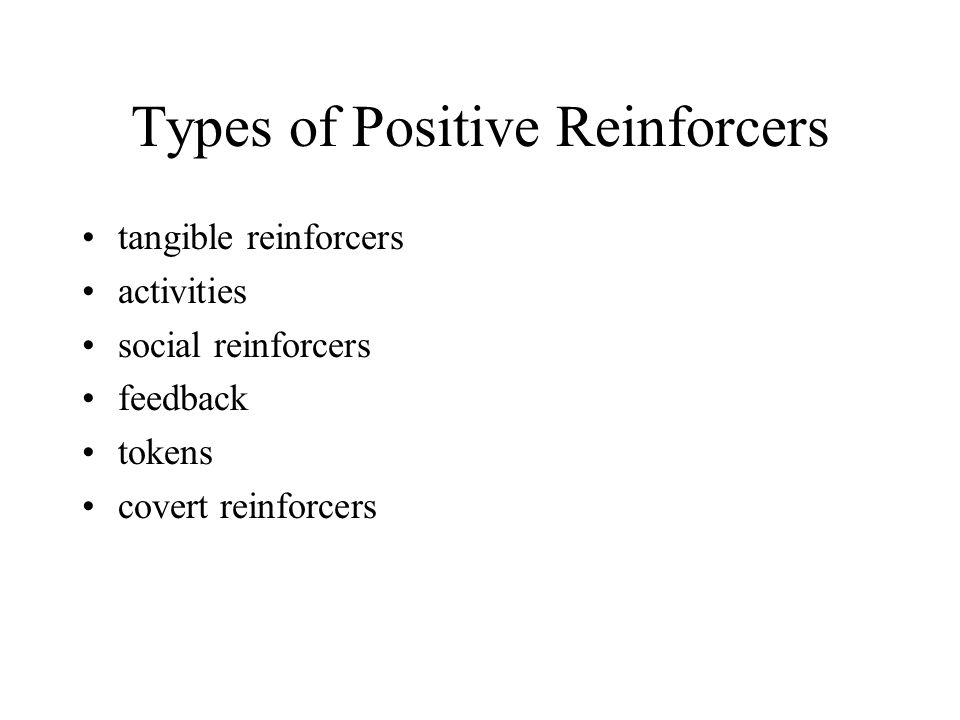 Tangible and Consumable Reinforcers tangible reinforcers are material objects consumable reinforcers are items we ingest food can serve as a reinforcer, but it has several drawbacks
