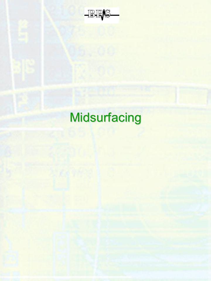 Midsurfacing