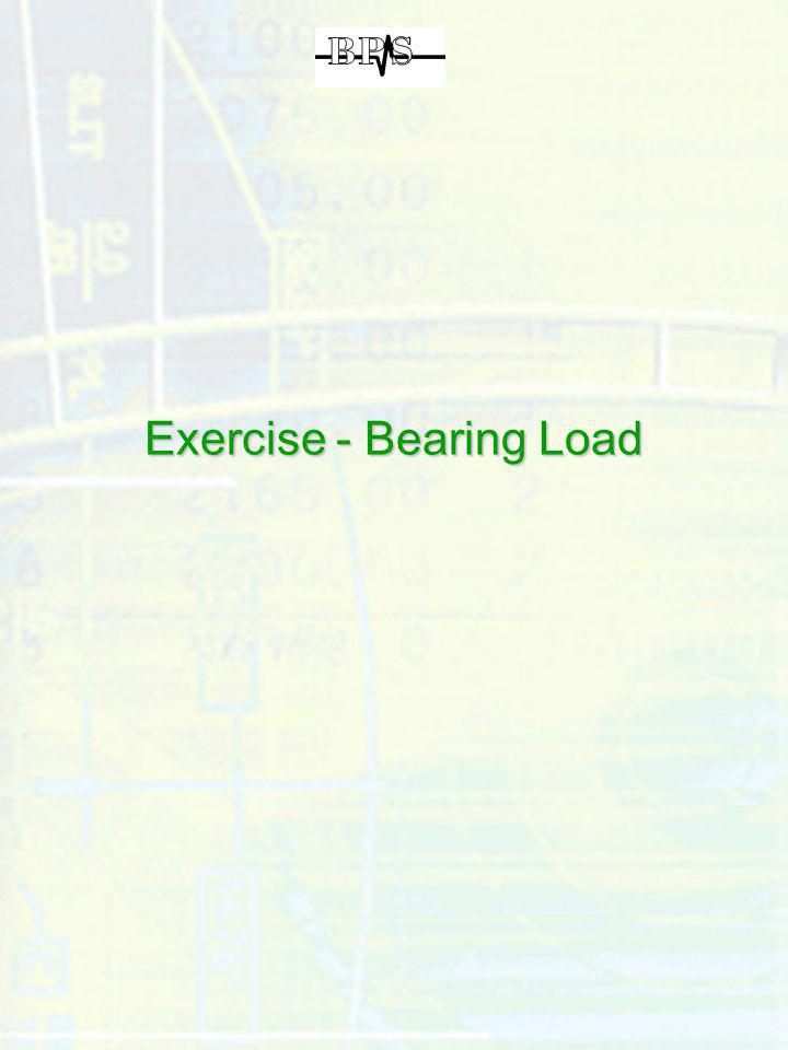 Exercise - Bearing Load
