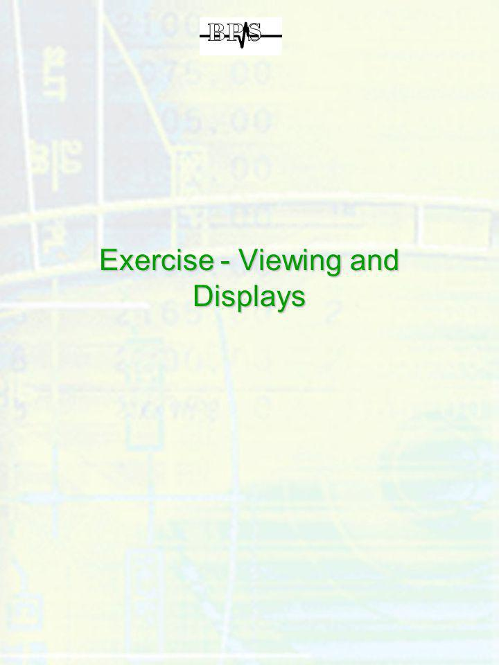 Exercise - Viewing and Displays