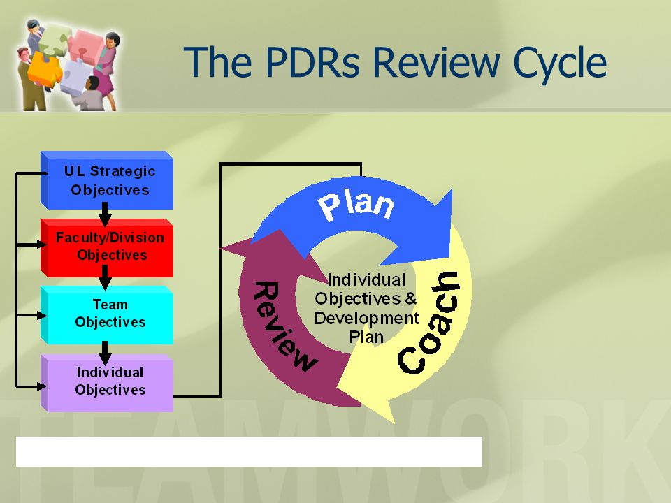 The PDRs Review Cycle