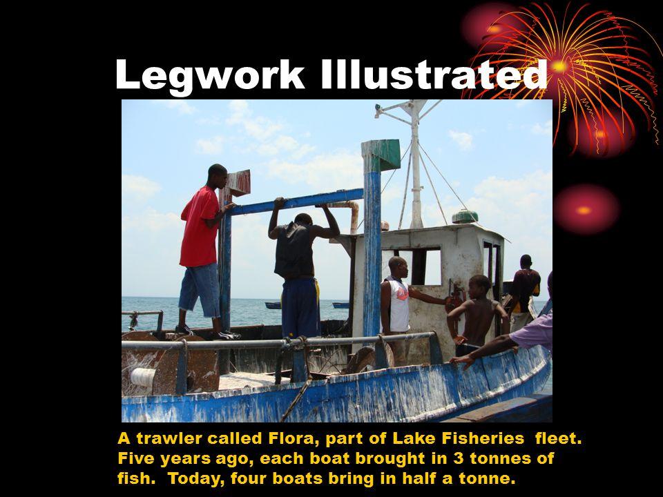 Legwork Illustrated A trawler called Flora, part of Lake Fisheries fleet.