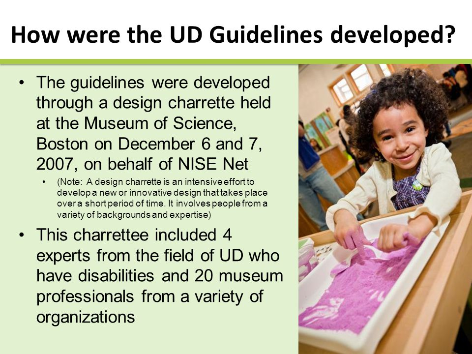 UD Guidelines: A Working Document The UD Guidelines are a working document.