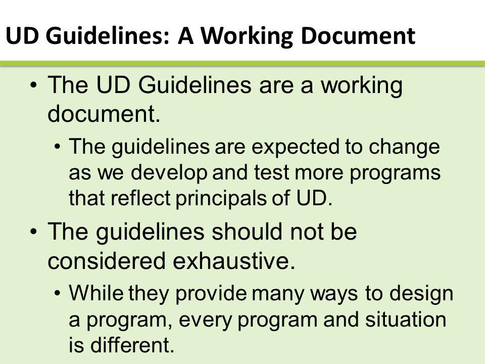 Developing a program
