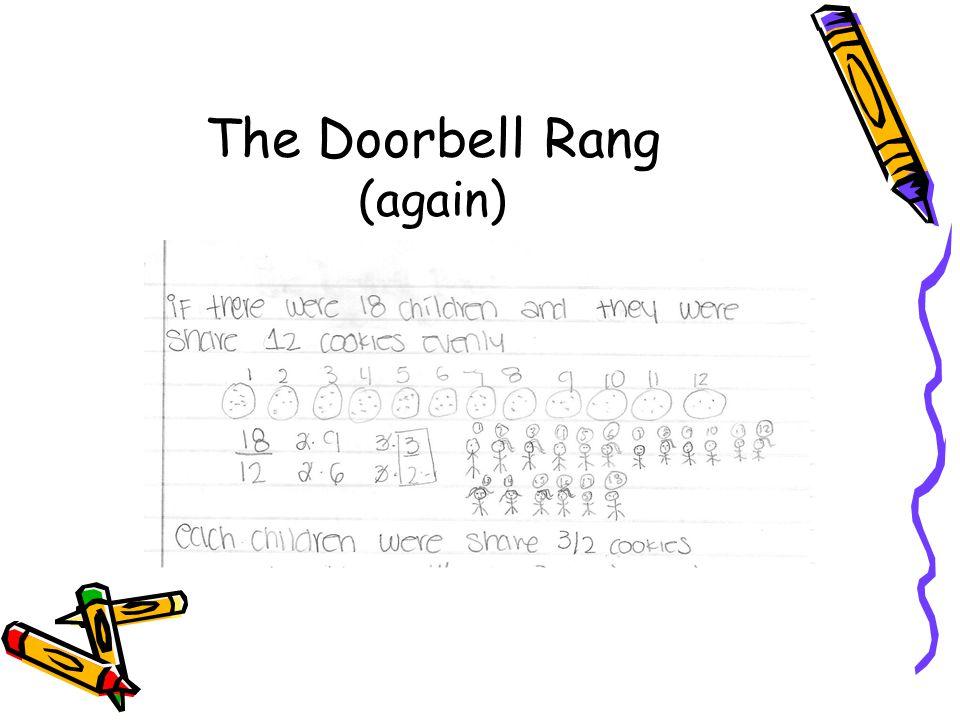 The Doorbell Rang (again)