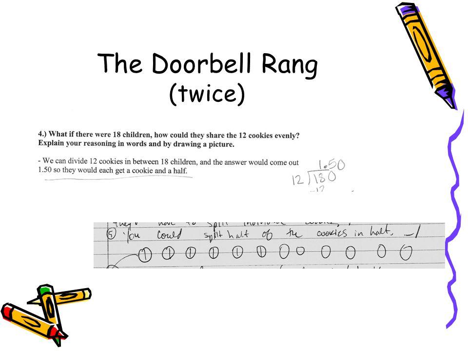The Doorbell Rang (twice)