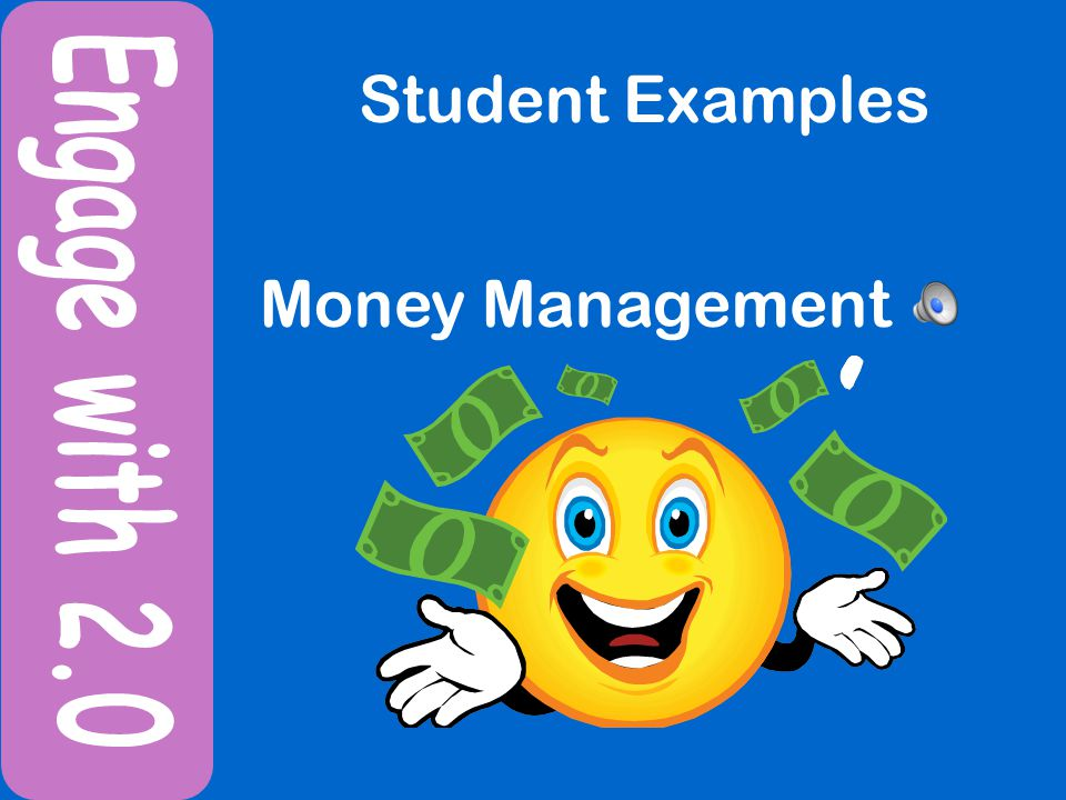 Student Examples Money Management