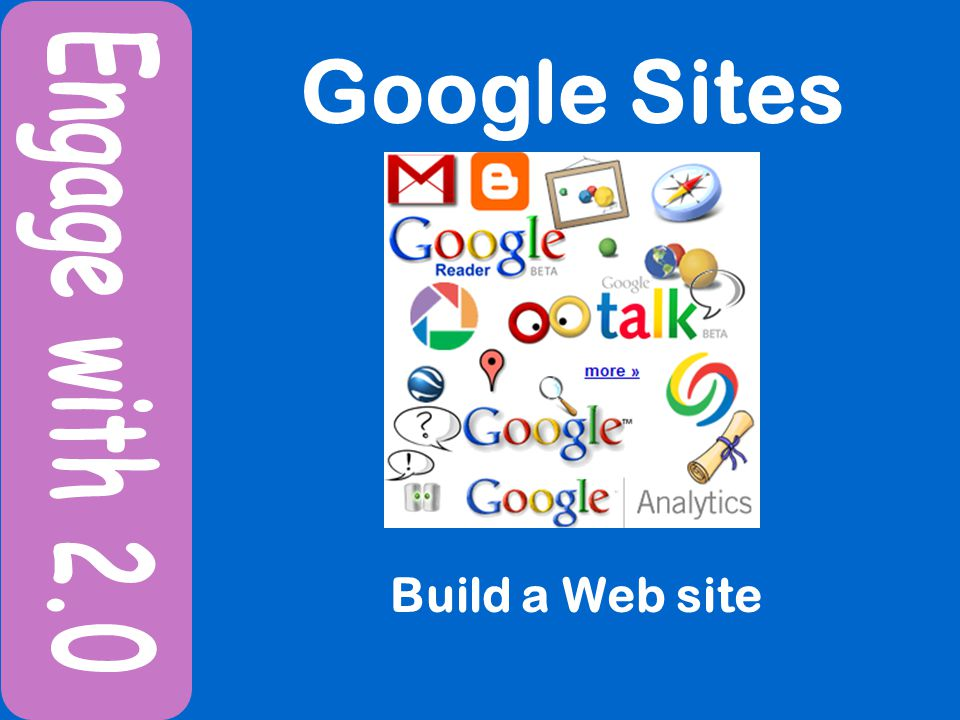 Google Sites Build a Web site
