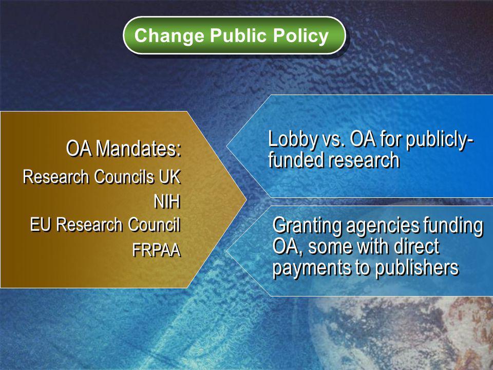 Change Public Policy Lobby vs.