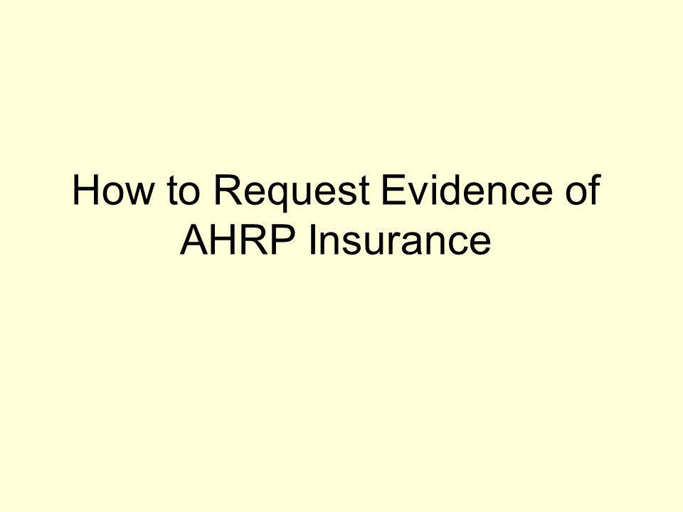 What an AHRP Loss Payee Endorsement Looks Like