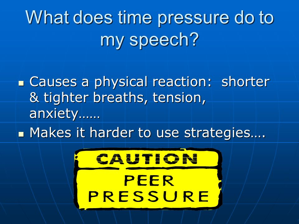 Colts Speech Dont like being interrupted Dont like being interrupted Or Talking louder over people Or Talking louder over people Sometimes I feel rushed Sometimes I feel rushed Stuttering comes and goes Stuttering comes and goes Goals: relax body, slow my speech in the beginning, & breathing.