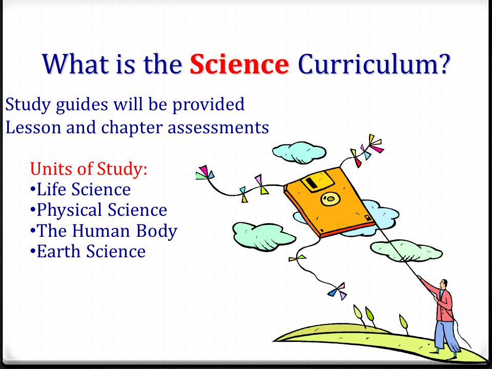 What is the Science Curriculum.