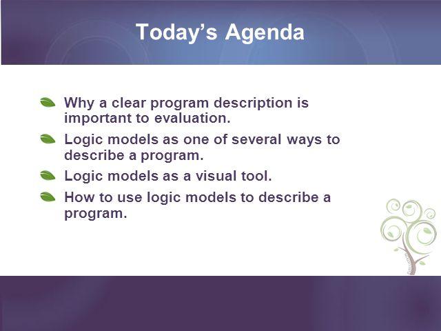 CDC Framework for Program Evaluation The CDC Framework Model is a utilization focused framework.