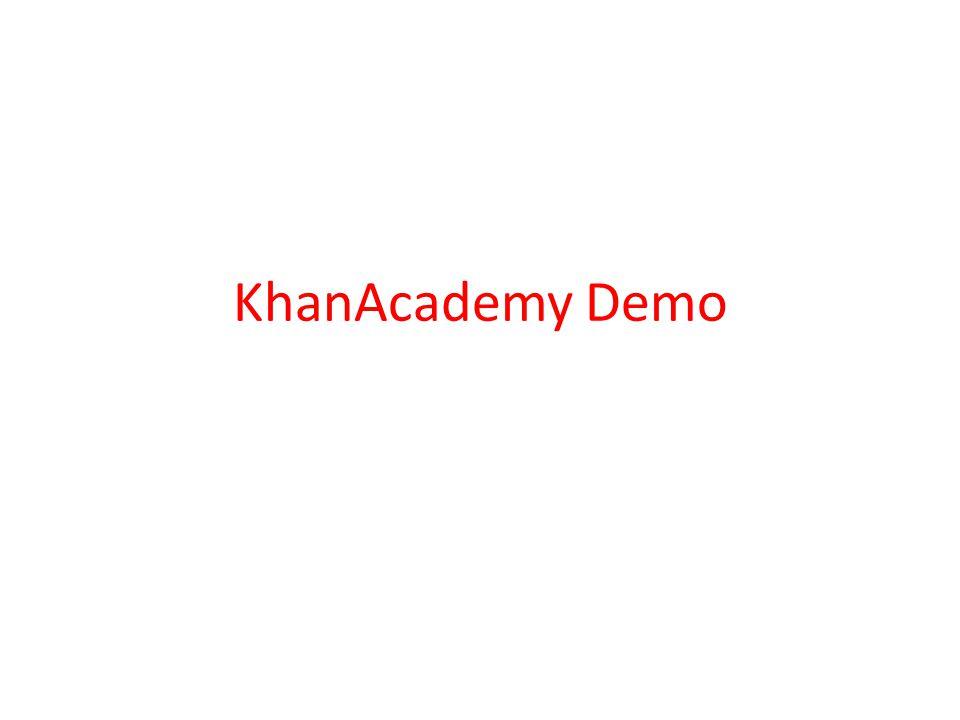 KhanAcademy Demo
