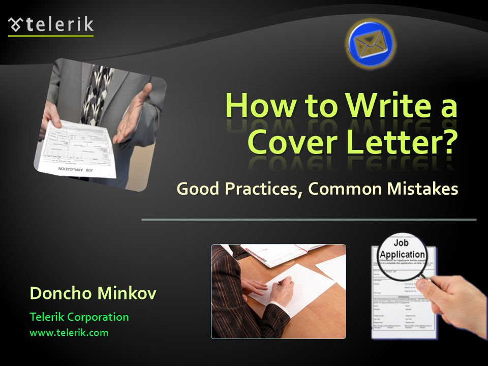 Good Practices, Common Mistakes Doncho Minkov Telerik Corporation www.telerik.com