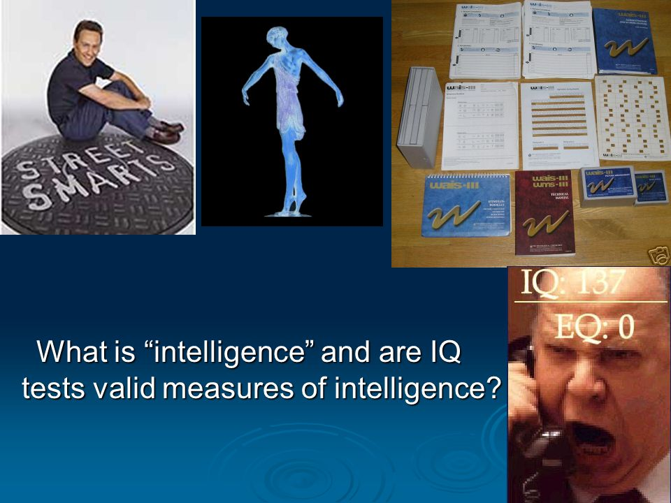 What is intelligence and are IQ tests valid measures of intelligence?