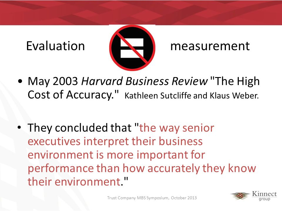 Results and Performance Mainstay of private sector and increasingly important in social/public / philanthropic sectors In the public / social / philanthropic sectors - measurement is often considered to be one of biggest challenges… However….