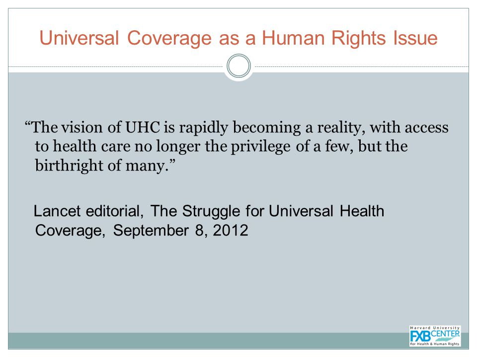 UN Resolution on Childs Right to Health (Human Rights Council, 2013) 44.