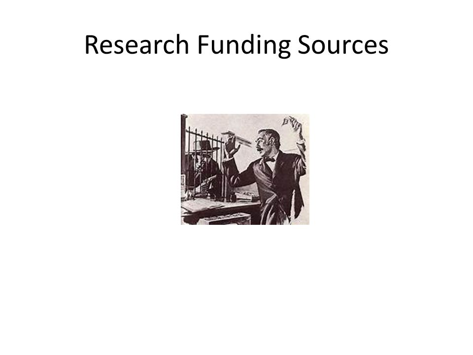 Research Funding Sources